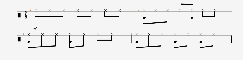 understanding the 7/8 time signature