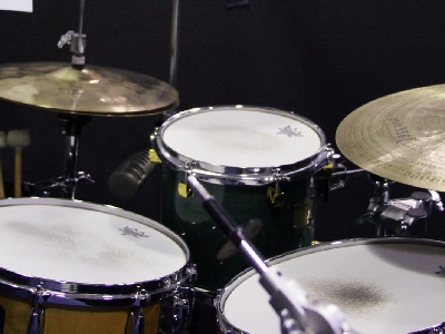 get better in playing drums