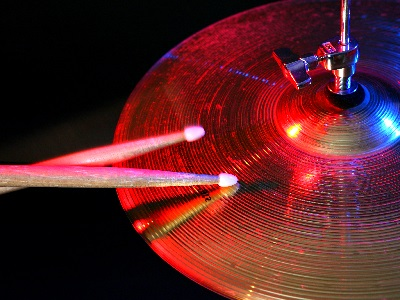 spark up with cymbals
