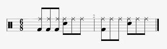 68 drumbeats
