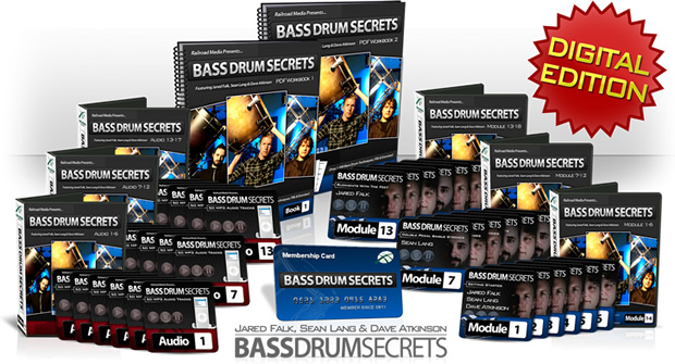 bass drum secrets spread