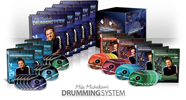 display of drumming system's content