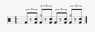 intermediate blues drumbeats