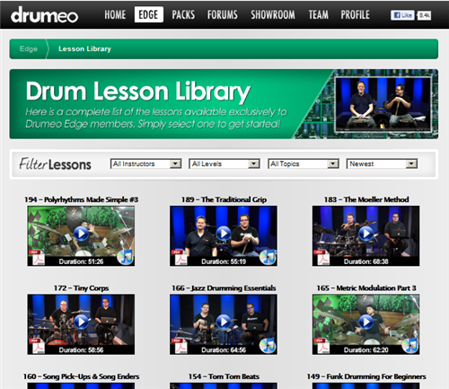 library of lesson archive